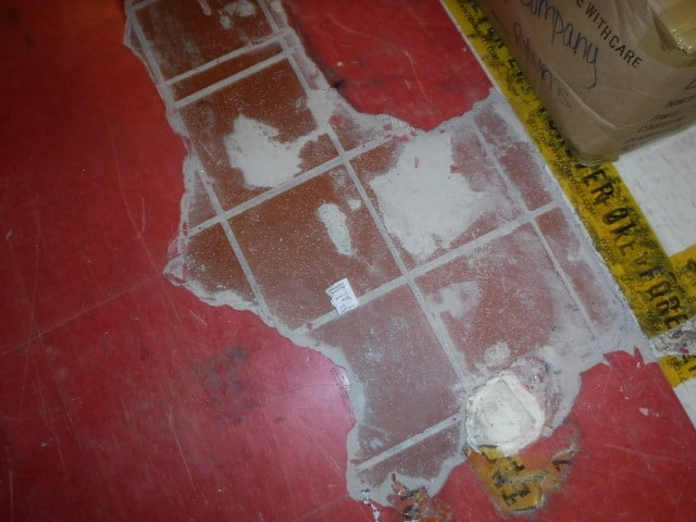 Asbestos Abatement Oversight on the floor of a building in Austin