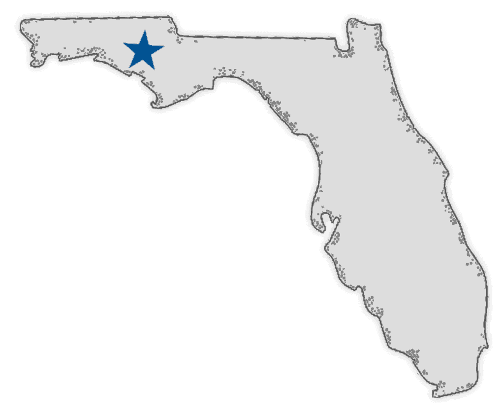Farmer Florida in the US map