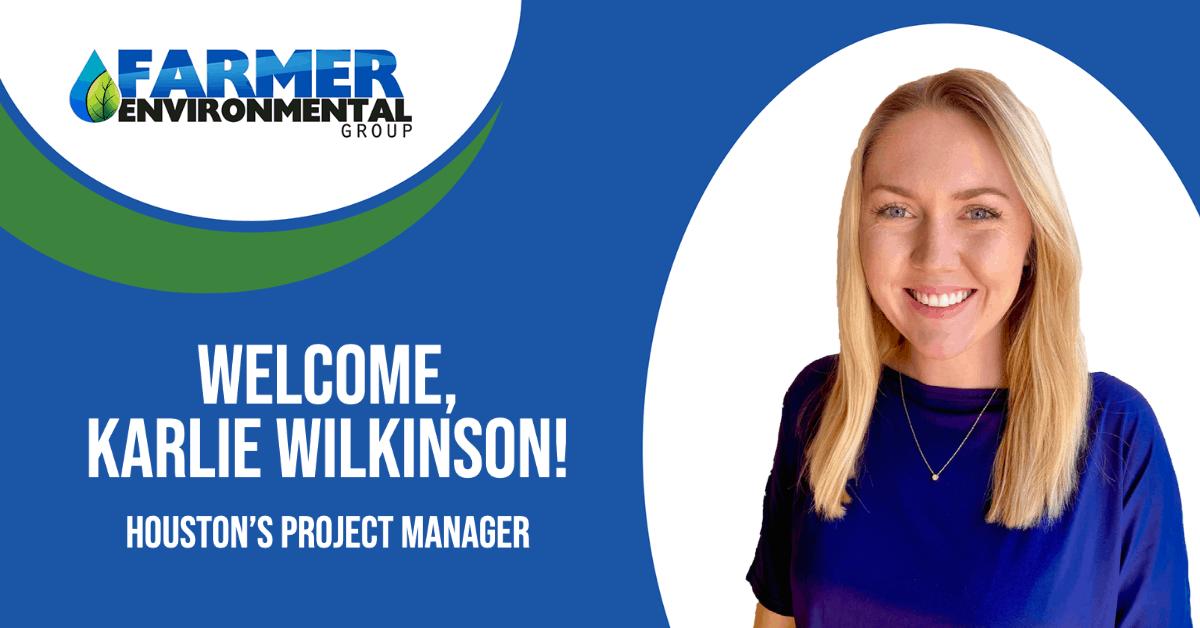 Welcome-Karlie-Wilkinson-Houston-Farmer-Environmental